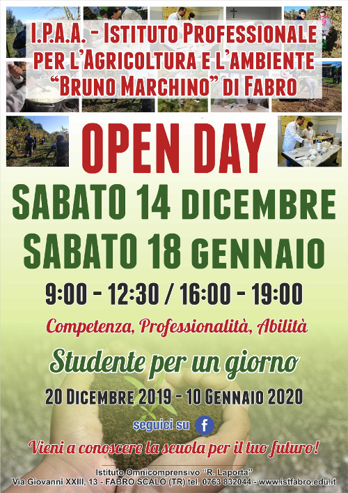 open day agrario