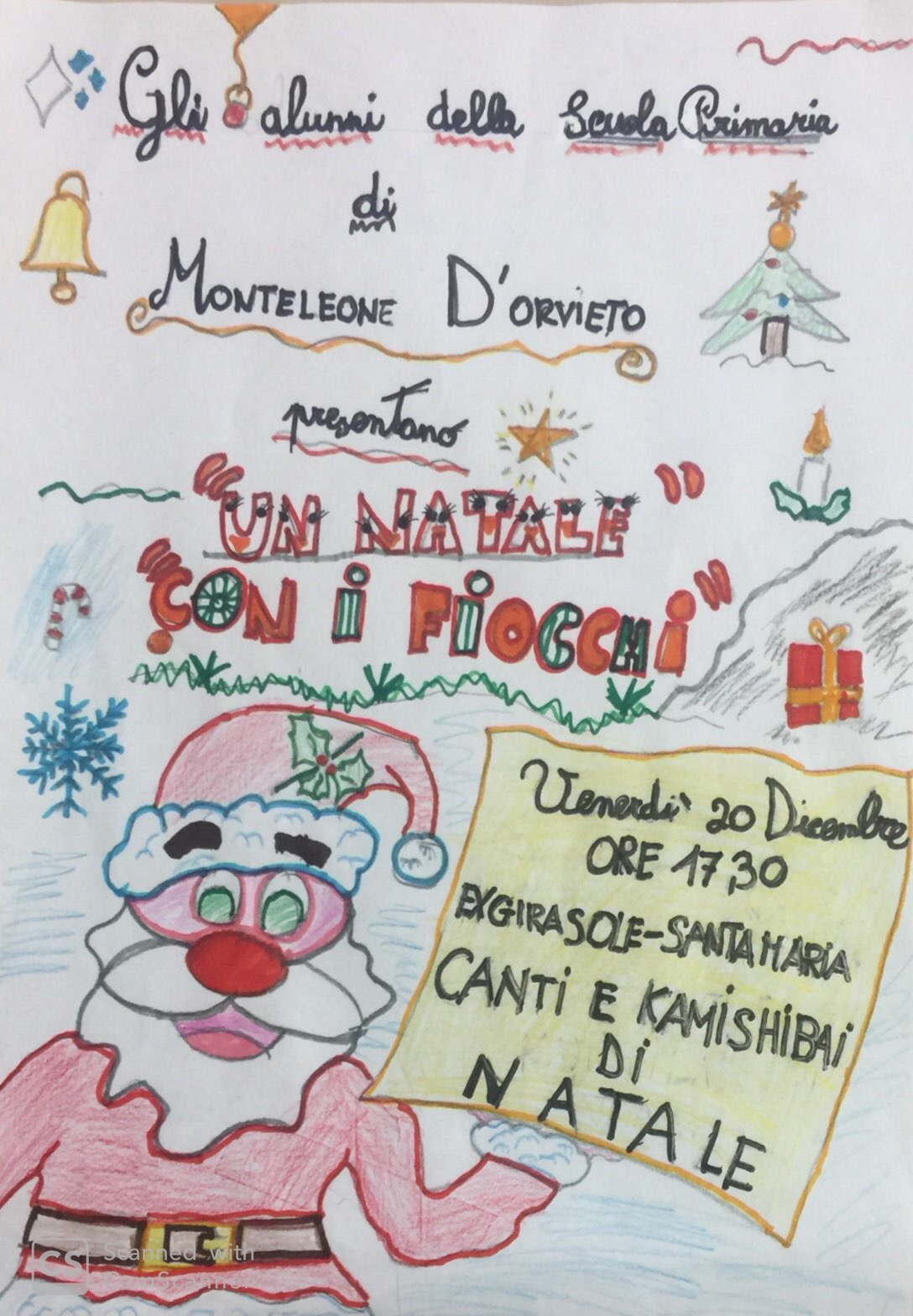 Il Natale nelle Scuole di Monteleone