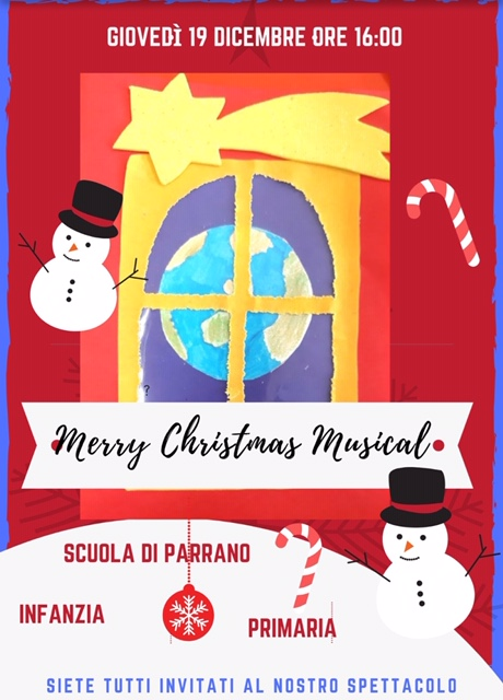 Merry Christmas Musical a Parrano